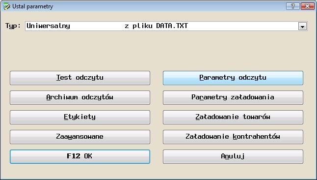 Konfiguracja inwentaryzatora w programie Symplex Small Business Bistro